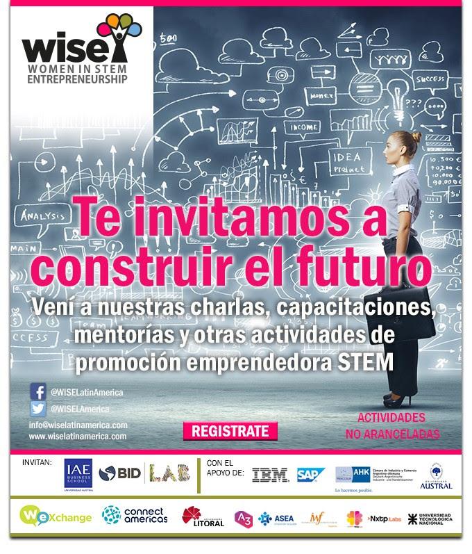 Inscripción abierta Programa WISE para mujeres emprendedoras en STEM