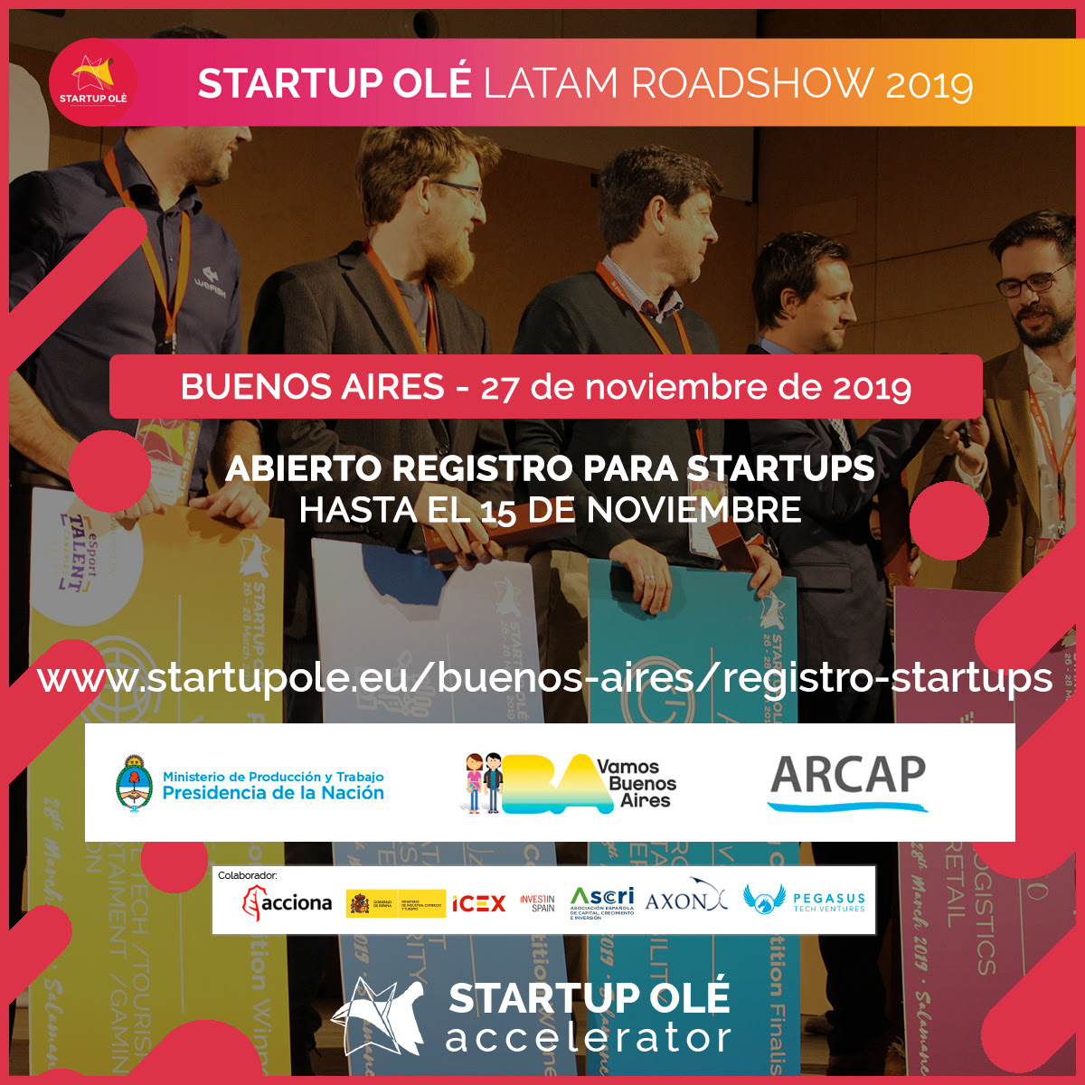 Convocatoria Abierta de Startup Ole para Emprendedores Argentinos