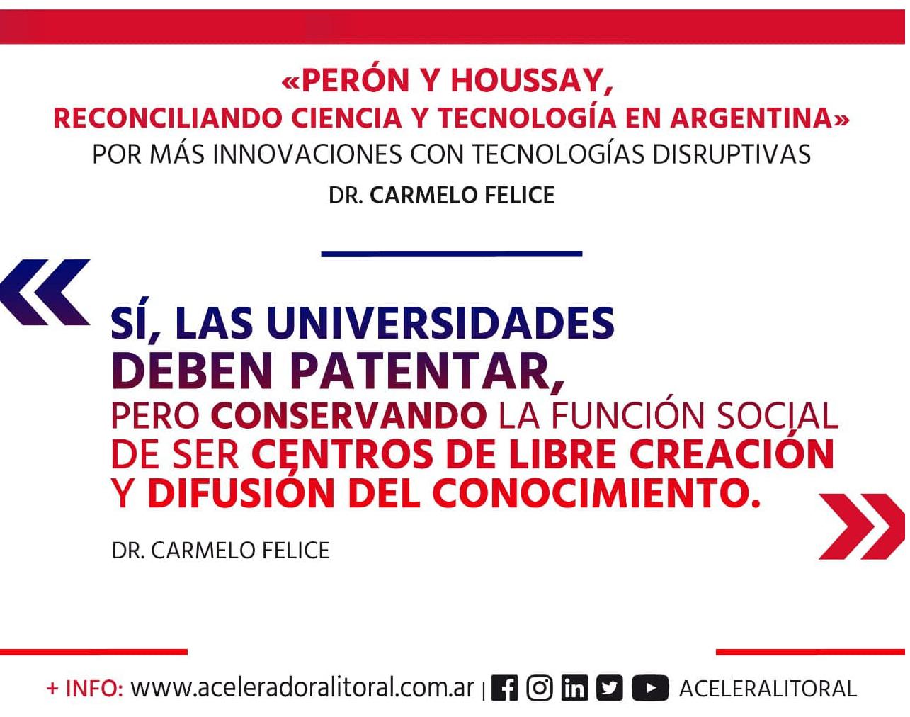 Por más innovación con Tecnologías Disruptivas: un libro que busca reconciliar la Ciencia y Tecnología en Argentina